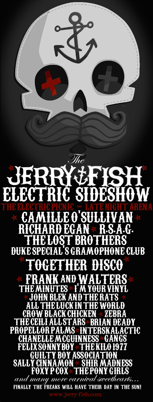 Jerry Fish Electric Sideshow EP2014